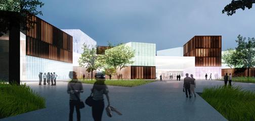 Verstas arkkitehtien Väre voitti Otaniemen uudesta kampusalueesta käydyn arkkitehtikilpailun.