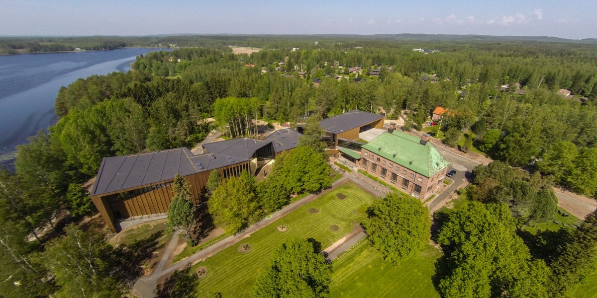 Goösta Serlachiuksen museo Mäntässä.