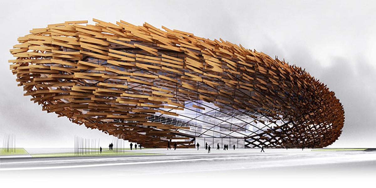 Guggenheim arkkitehtuurikilpailun ehdotus GH-9150817405.