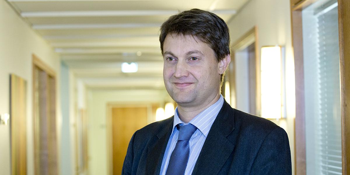 Sampo Hietanen on  älykkään liikenteen verkoston ITS Finlandin toiminnanjohtaja.