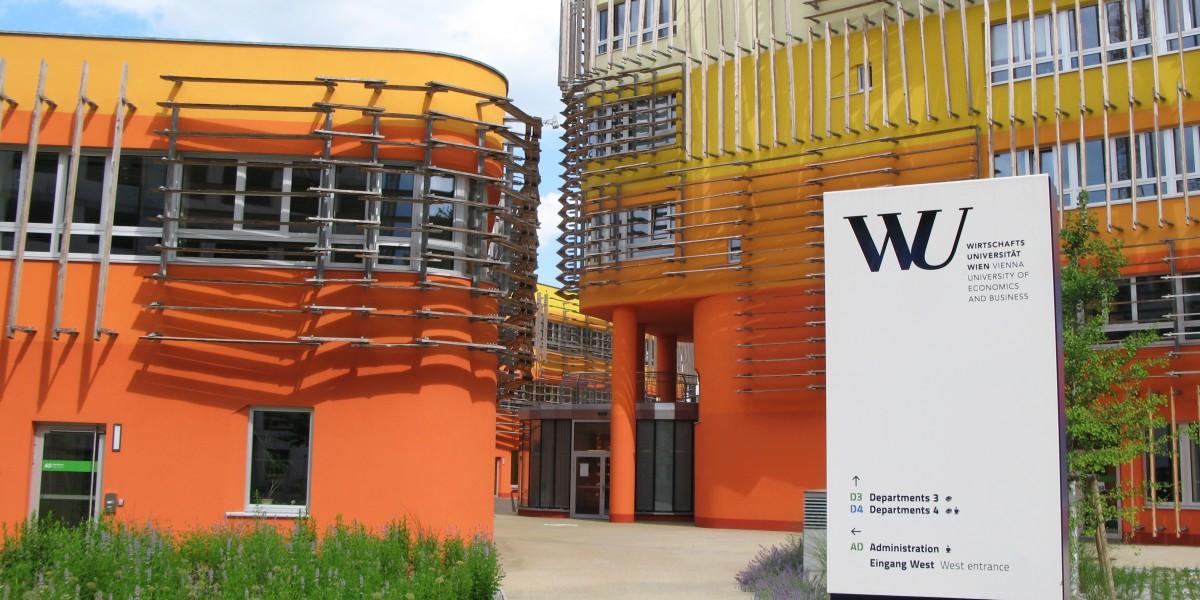 Wienin kauppakorkeakoulun uusi kampus on arkkitehtuurin näyteikkuna.