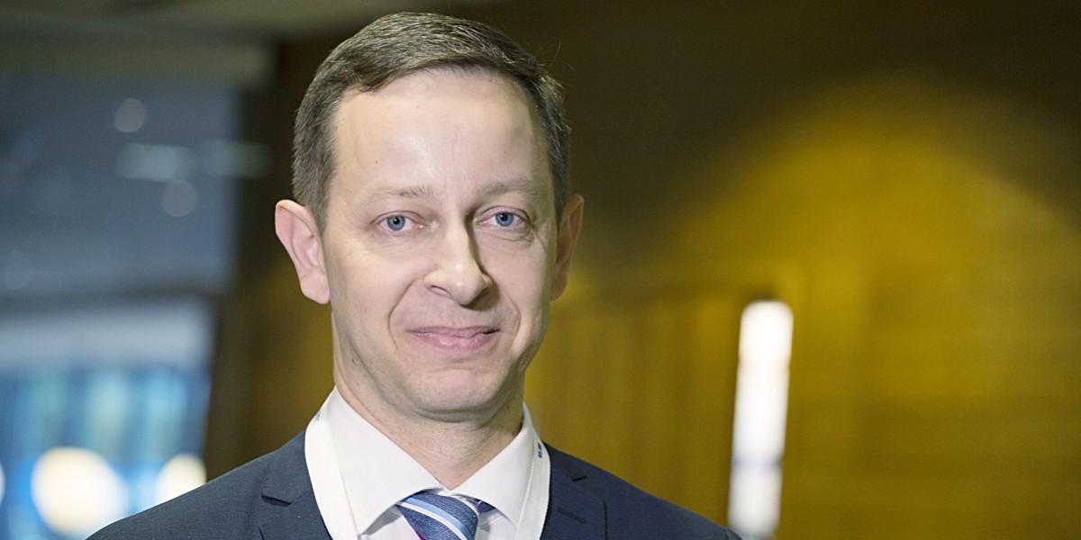 Firan toimitusjohtaja Jussi Aho.