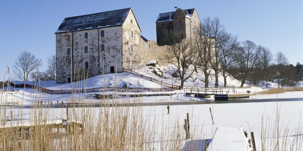 Ahvenanmaalla sijaitseva Kastelholman linnakin liitetään tulevaisuudessa älysähköverkkoon, jos Vapaavuoren ajama hanke toteutuu.