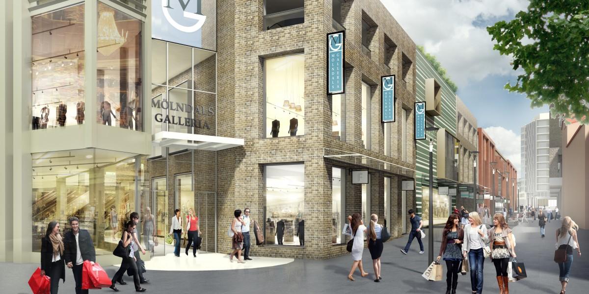 Mölndals Gallerian on tarkoitus avata ovensa alkuvuodesta 2018.