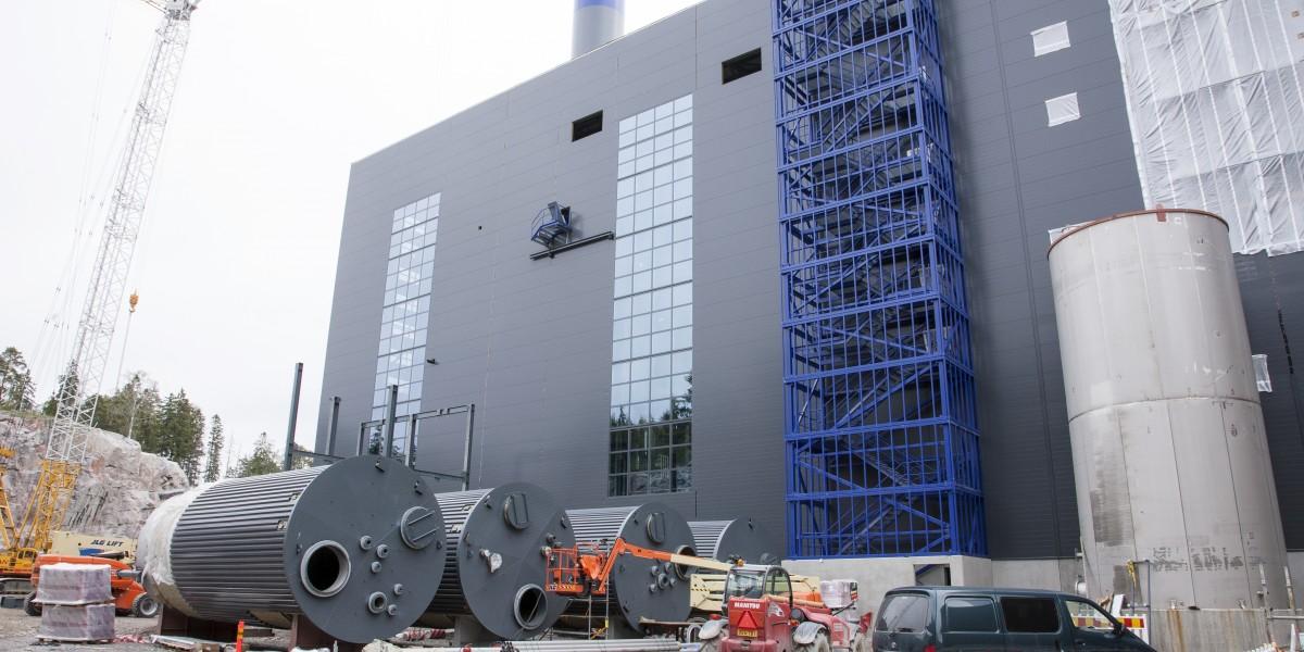 Vantaan uusi jätteenpolttolaitos