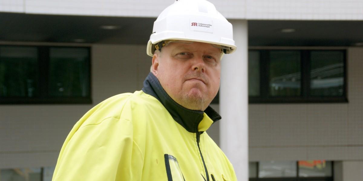 Salpausselän Rakentajien toimitusjohtaja Mika Wilenius pitää pk-yrityksen vahvuutena pieniä yleiskuluja ja ketteryyttä.
