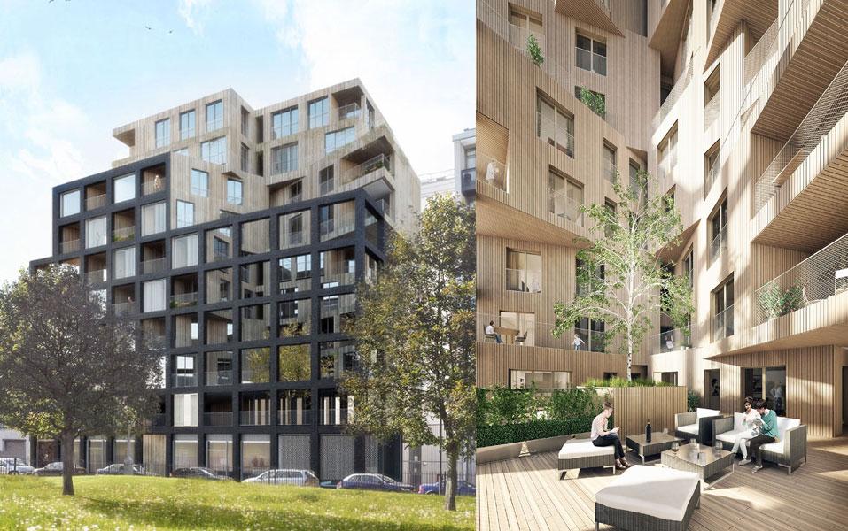 Banyan Wharf, Hawkins Brown Architects
