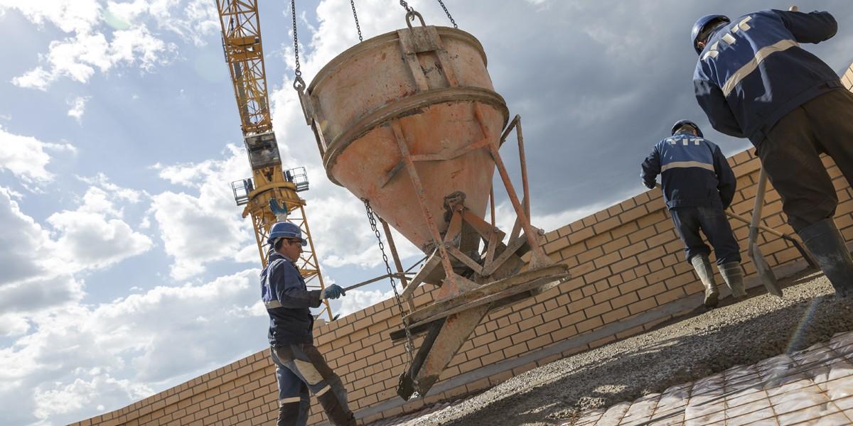 Moskovan Ramenskoyeen rakennettava 1 000 asunnon kohde on yksi YIT:n suurimmista käynnissä olevista hankkeista Venäjällä.